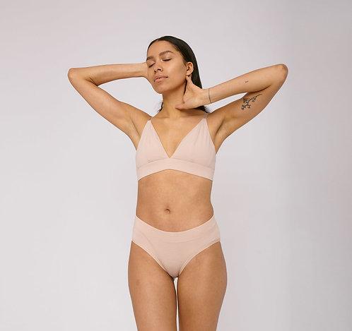 ORGANIC BASICS - organic cotton briefs 2-pack rose nude
