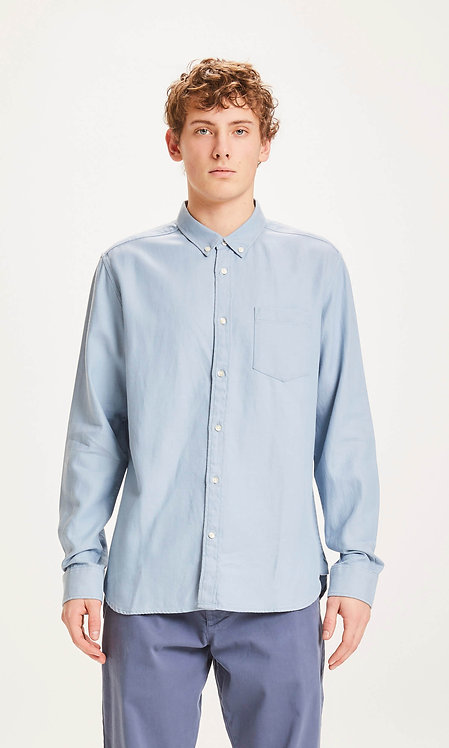 KCA - Larch LS tencel shirtasley blue