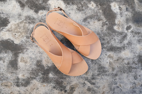 NULLA NOMEN - sandal SA NT02 natural/cork