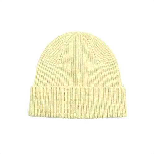 Colorful standard - beanie soft yellow