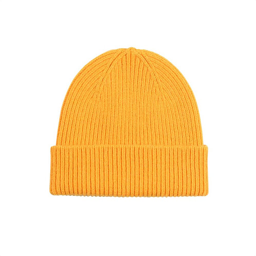 Colorful standard - beanie burned yellow