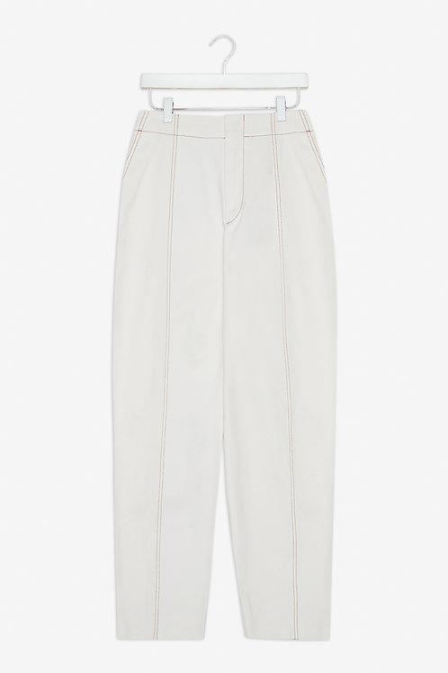 FRISUR - Raisa trousers white twill