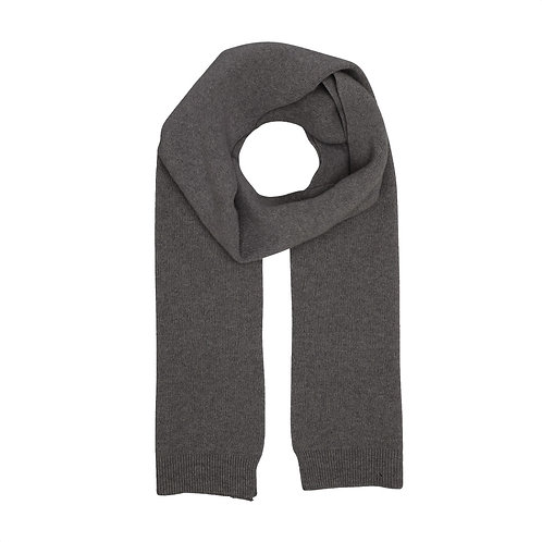 Colorful standard - merino scarf lava grey