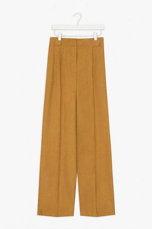 Frisur - Dido trousers golden olive