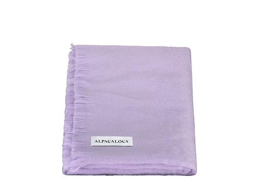 ALPACA LOCA - sjaal enkel lavender