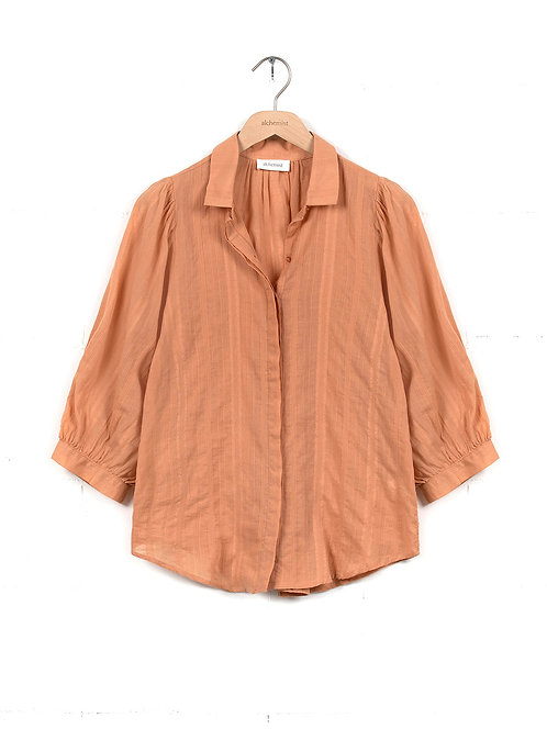 ALCHEMIST - blouse Chelsea muted clay