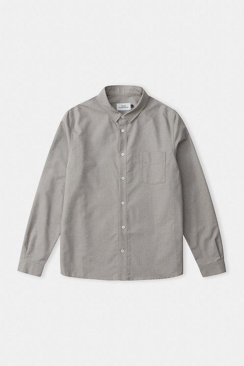ACO - Simon shirt eco oxford dusty olive