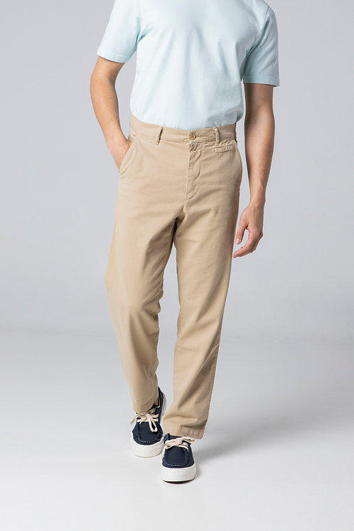 UNFEIGNED - Chino pants beige
