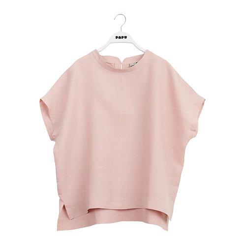 PAPU - Shirt linen muted red