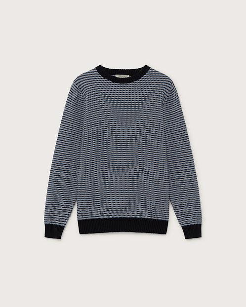 THINKING MU - Osiris sweater navy