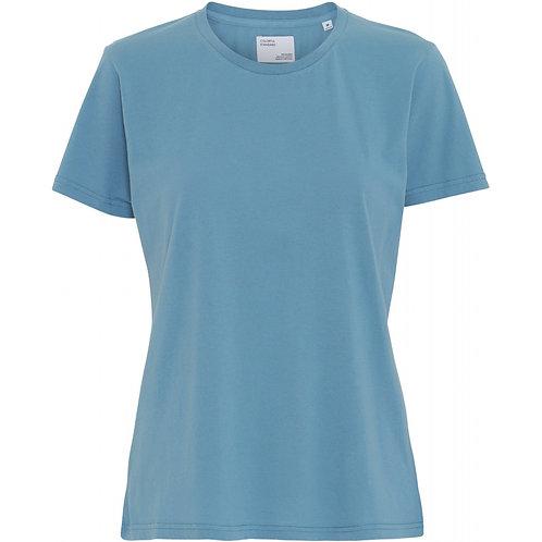 Colorful standard - women light organic tee stone blue