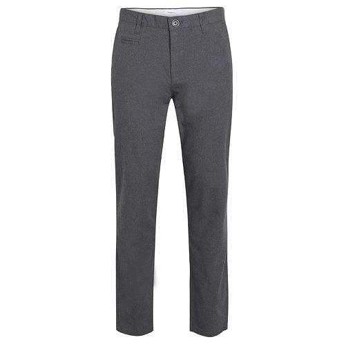 KCA - Chuck flannel chino dark grey melange