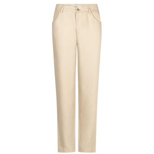 RHUMAA - Message trousers cream