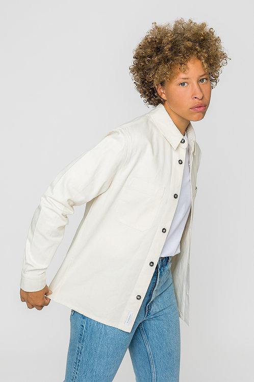 ROTHOLZ - Overshirt natural white