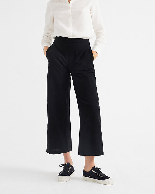 THINKING MU - Begonia pants black