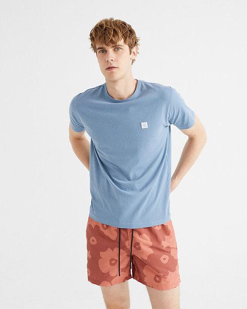 THINKING MU - Sol t-shirt indigo