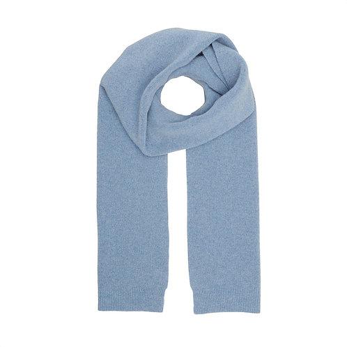 Colorful standard - merino scarf stone blue