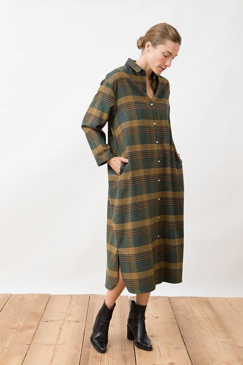 JUNGLE FOLK - Hanna dress checkered