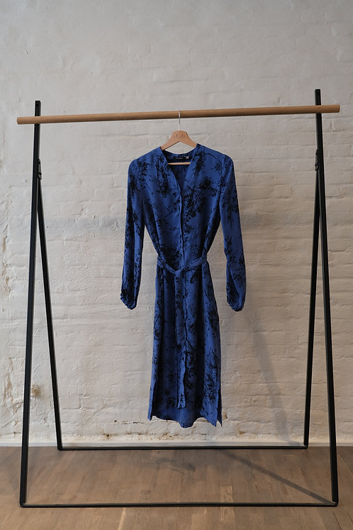 LAVANDERA - Dirginis dress blue print