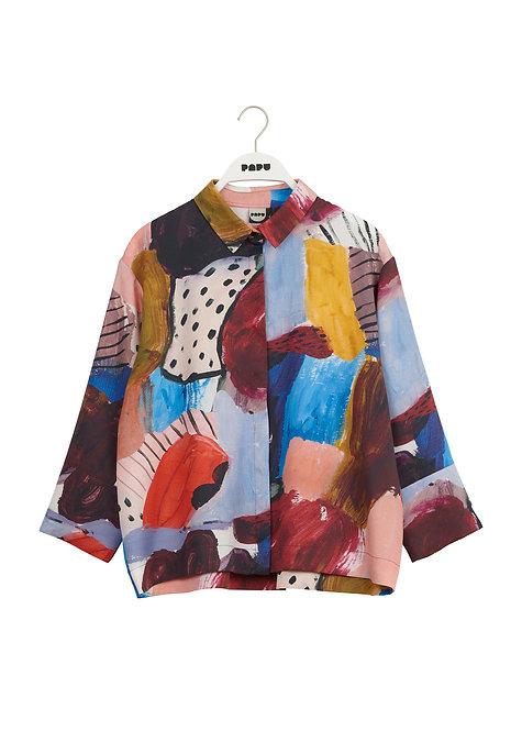 PAPU - Boheme shirt expression print