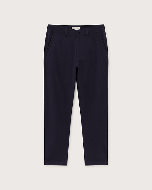 THINKING MU - Marcelino pants navy