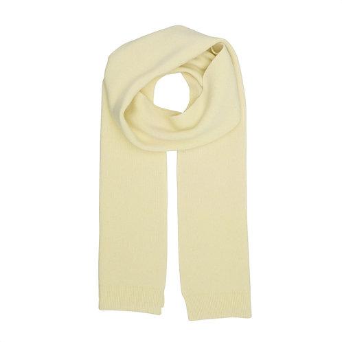 Colorful standard - merino scarf soft yellow