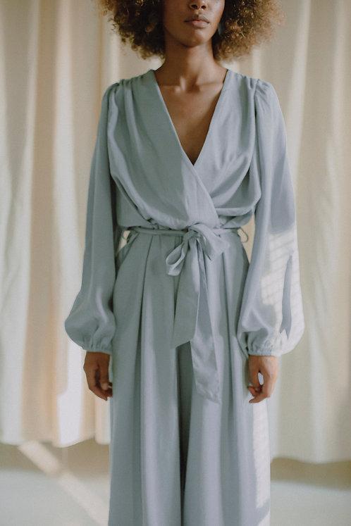 COSSAC - Wrap jumpsuit good grey