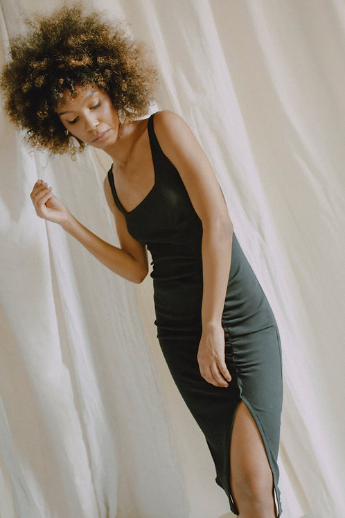 COSSAC - bodycon summer dress black