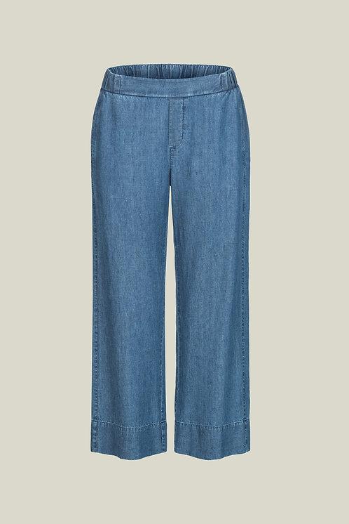 LANIUS - 7/8 loose denim pants vintage indigo