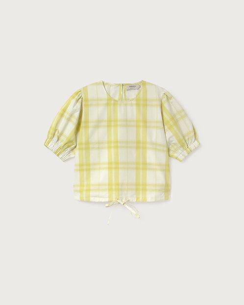 THINKING MU - Iris blouse checks