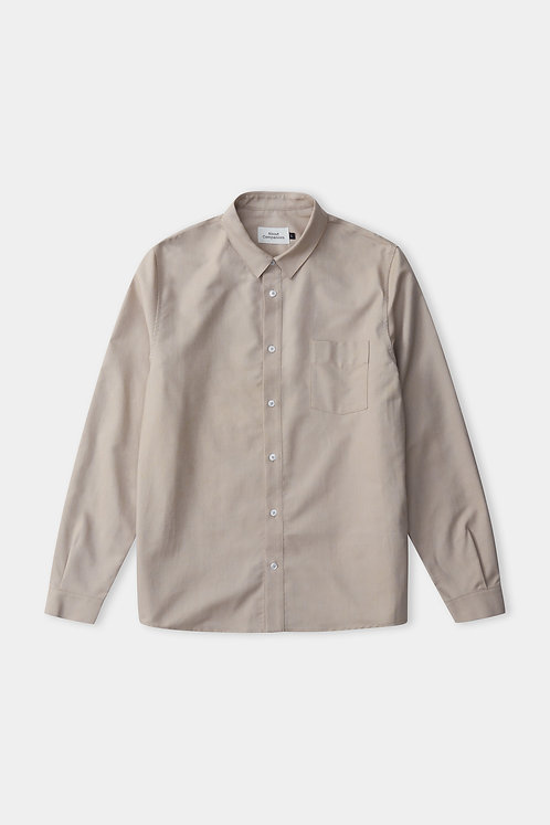 ACO - Simon shirt eco oxford clay