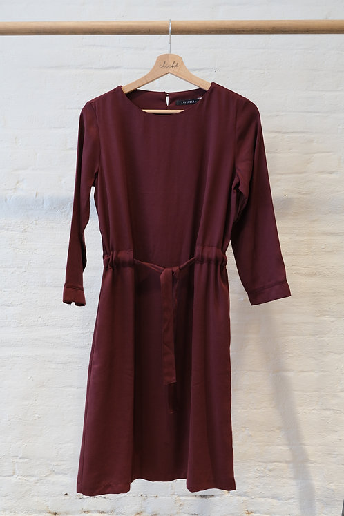 LAVANDERA - Drama dress bordeaux