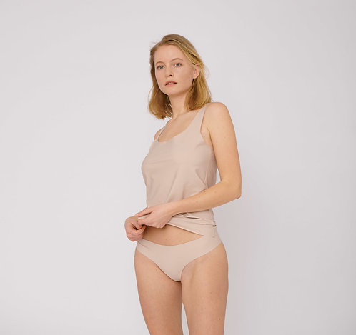 ORGANIC BASICS - invisible cheeky briefs 2-pack rose nude