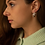 Thumbnail: SISTER - chunky hoops medium silver