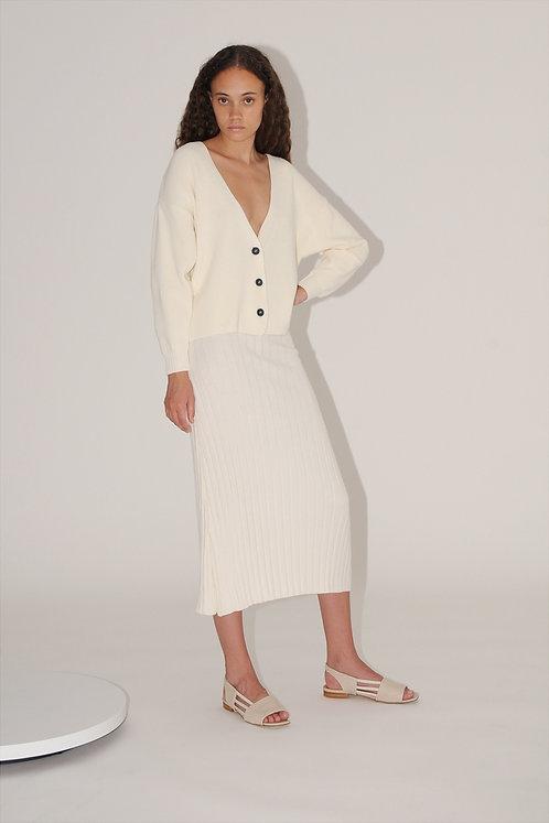 DIARTE - Nova cardigan white