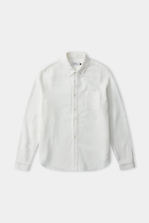 ACO -  Ken shirt eco crepe white