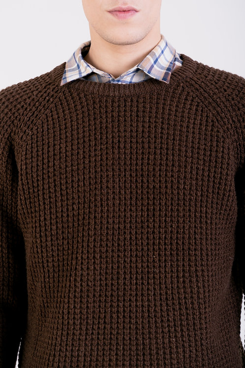 NÄZ -Pinhel sweater brown