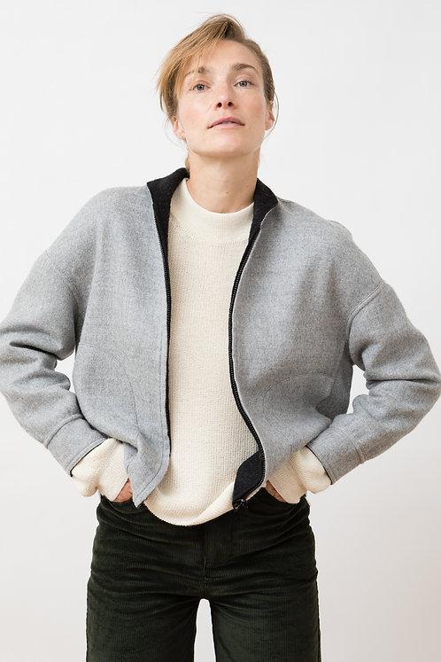 JUNGLE FOLK - Eleanor reversible jacket grey/black