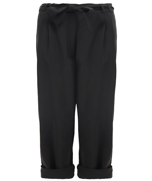 COSSAC - high waist trousers black
