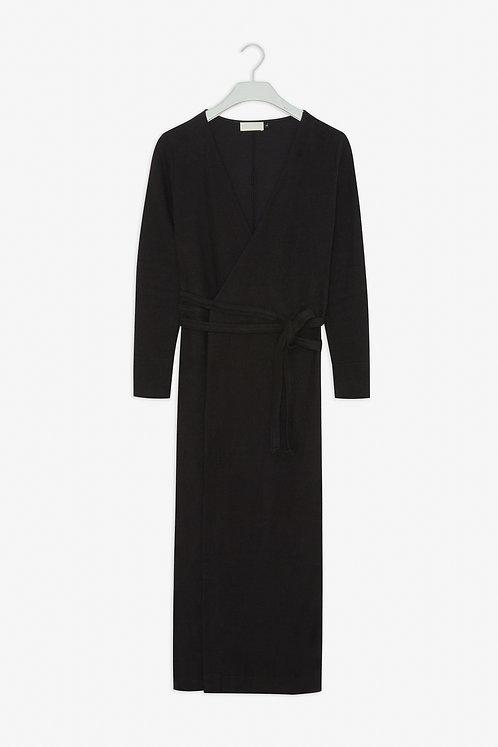 FRISUR - Hannah dress soft rib black