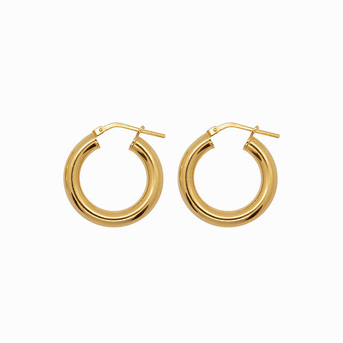 SISTER - chunky hoops medium gold
