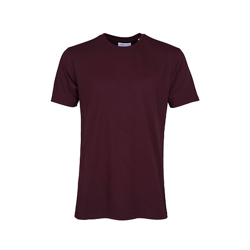 Colorful standard - classic organic tee oxblood red