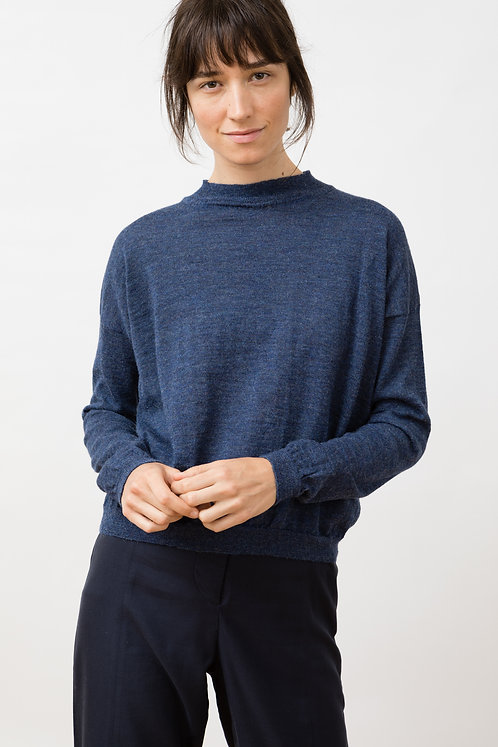JUNGLE FOLK - Arvo sweater grey blue