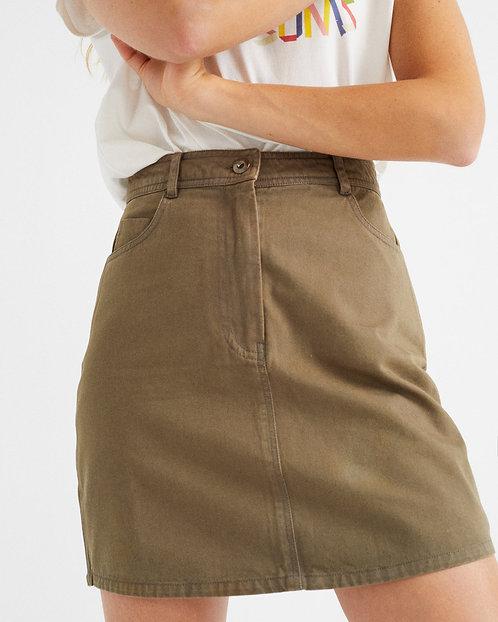 THINKING MU - Marsha skirt green