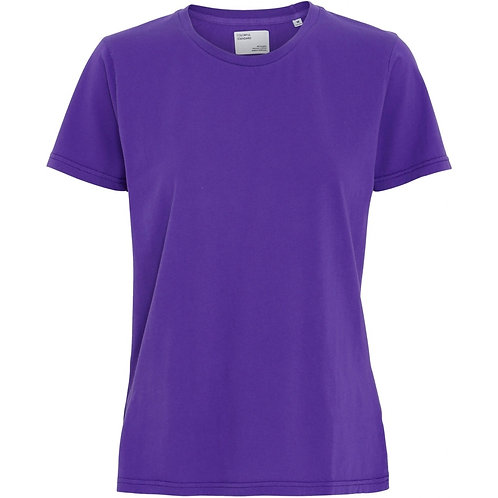 CS - women light organic tee ultra violet