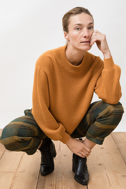 JUNGLE FOLK - Hélo sweater curry