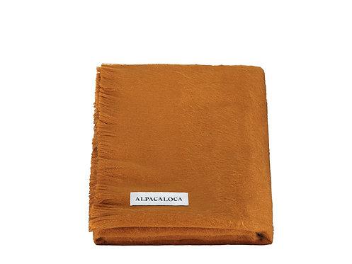 ALPACA LOCA - sjaal enkel rusty