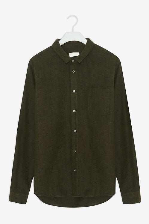 FRISUR - Simon shirt eco forest flannel