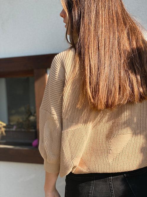 OAT AVA -  Noami sweater beige