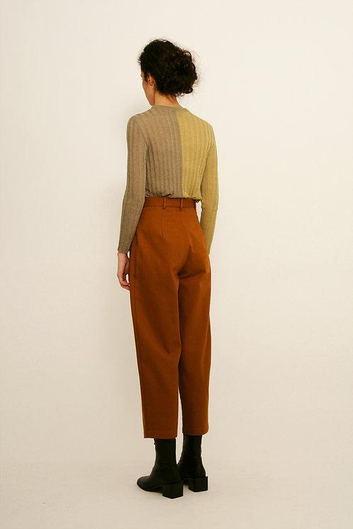 DIARTE - Cocosolo trousers organic ochre